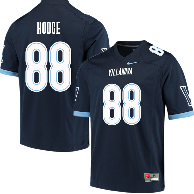 Men #88 Changa Hodge Villanova Wildcats College Football Jerseys Sale-Navy