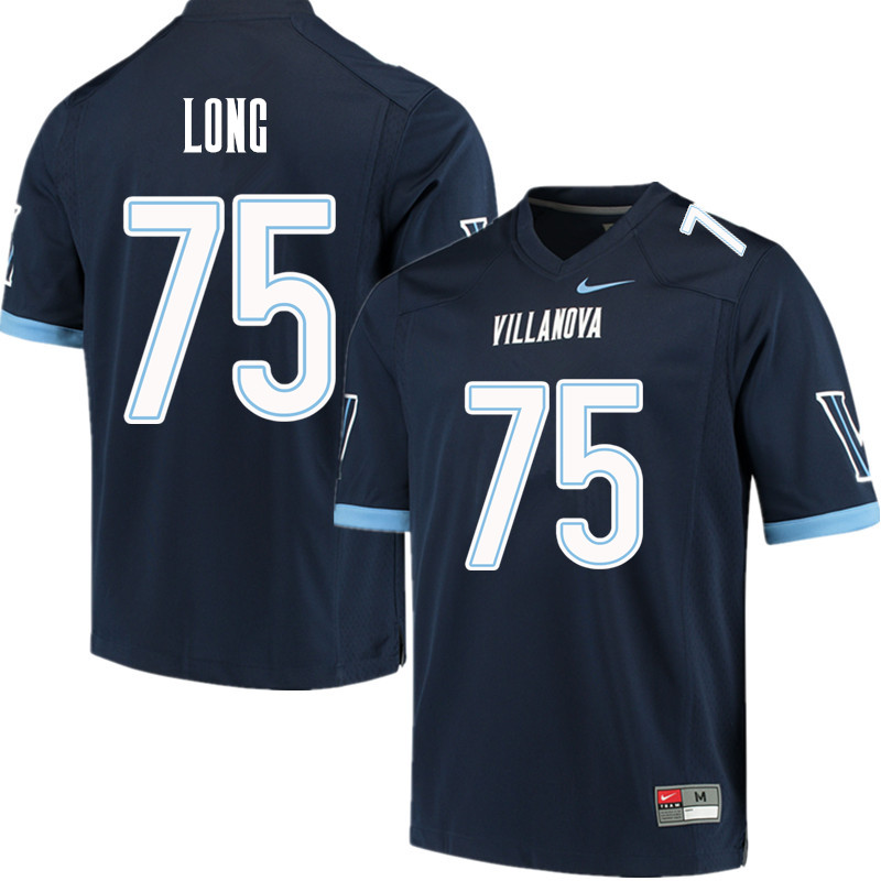 b24acee2 Men #75 Howie Long Villanova Wildcats College Football Jerseys Sale-Navy