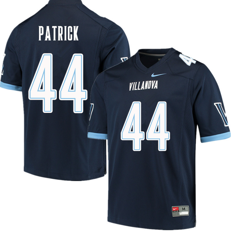 Men #44 Josh Patrick Villanova Wildcats College Football Jerseys Sale-Navy