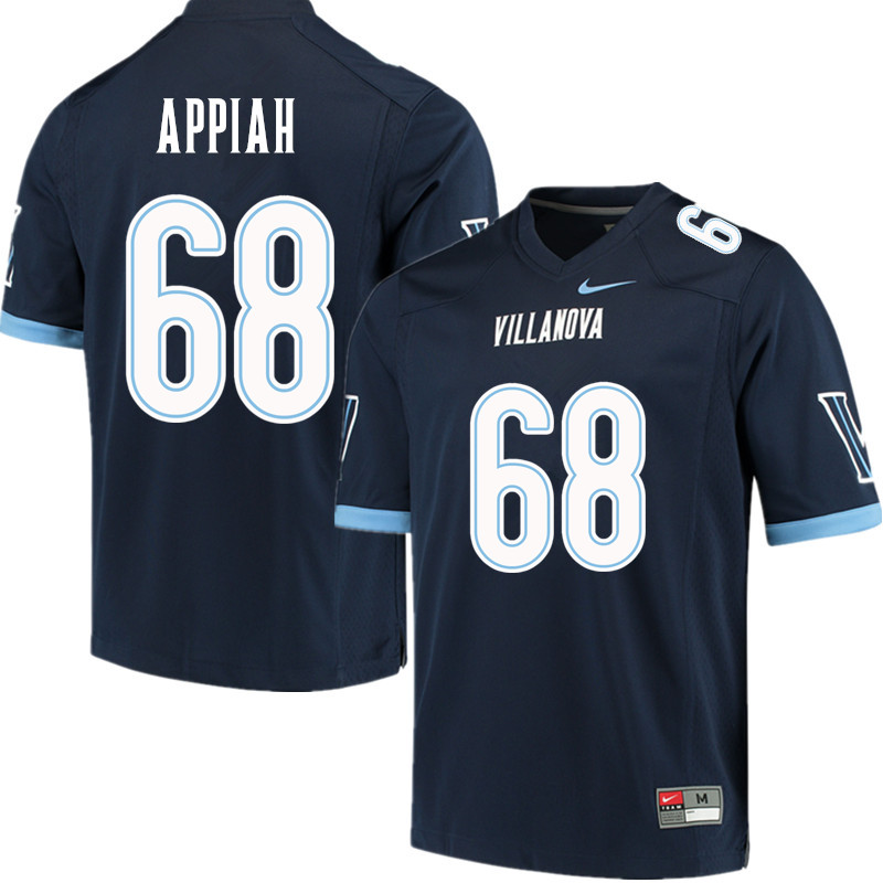 Men #68 Kofi Appiah Villanova Wildcats College Football Jerseys Sale-Navy