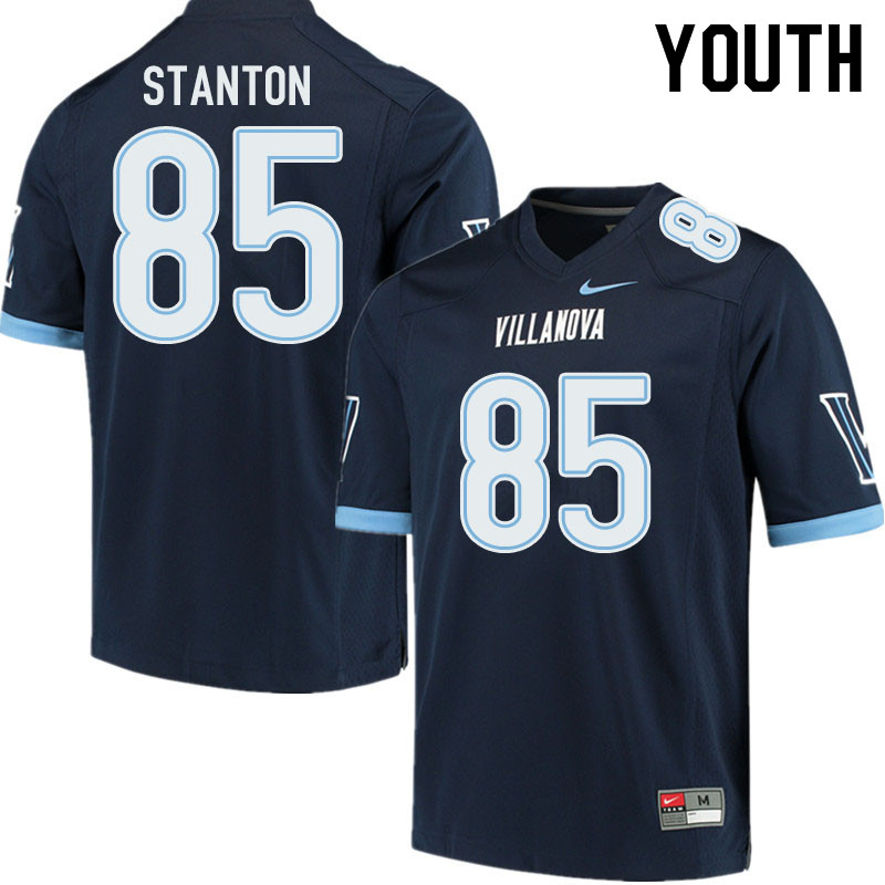 Youth #85 Jack Stanton Villanova Wildcats College Football Jerseys Sale-Navy