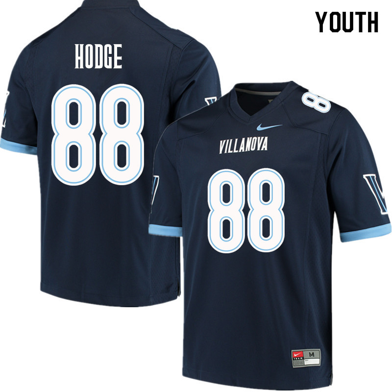 Youth #88 Changa Hodge Villanova Wildcats College Football Jerseys Sale-Navy