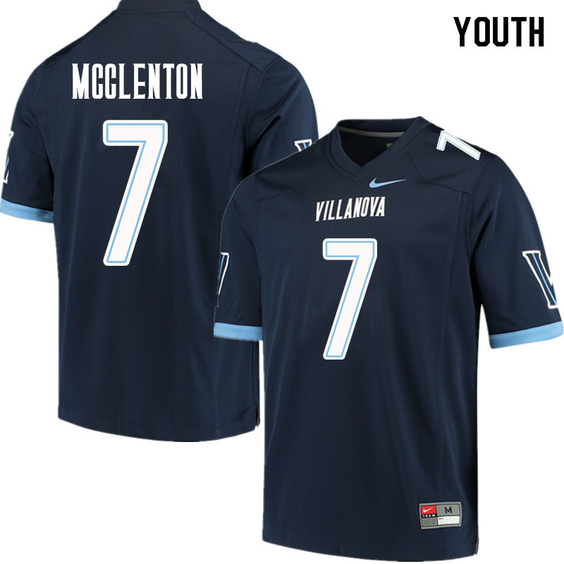 Youth #7 Julian Williams Villanova Wildcats College Football Jerseys Sale-Navy